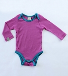 Merino Long Sleeve Bodysuit by Wee Woolies